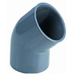 Колено 45° НПВХ для воды