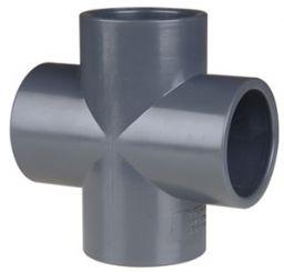 Крестовина НПВХ для питьевого водовпровода клеевая
