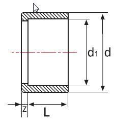 Редукция НПВХ короткая для воды клеевая