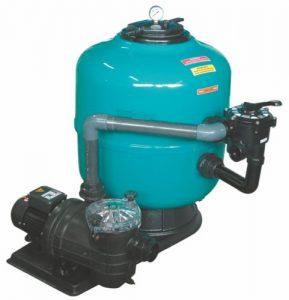 Фильтровальная установка для бассейнов Neptune 8-16 м³/ч с боковым клапаном