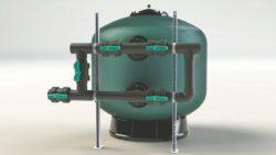 Батареи задвижек для фильтра для коммерческих бассейнов