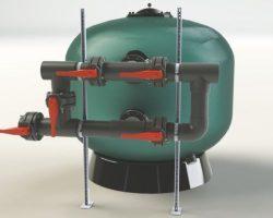 Клапанные батареи для фильтра для коммерческих бассейнов