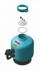 Фильтр для бассейна песочный FiltegraSL