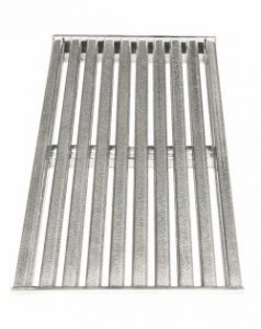 Переливная решетка из нержавеющей стали (узор - имитация кожи)