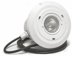 Прожектор подводный Mini 2008 с галогенной или LED лампой для пленочных бассейнов