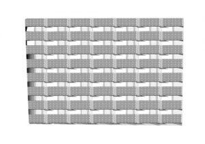 Переливная решетка для бассейна модульная Model Futuro 20*2.5 см