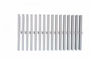 Переливная решетка для бассейна модульная с одинарным соединением