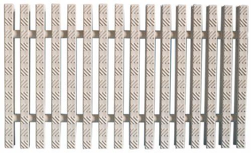 Переливная решетка для бассейна модульная с двойным соединением