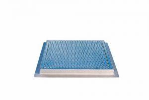 Решетка для донного слива из нержавеющей стали (под бетон)