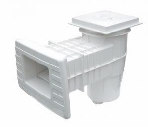Скиммер Lux для бетонных бассейнов (длинная горловина)