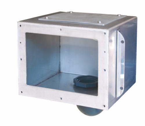 Скиммер из нержавеющей стали для бетонного бассейна (модель 2)