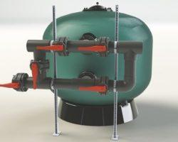 Набор шарниров поддержки батарей клапанов для фильтров