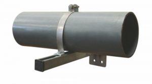 Горизонтальные опоры для трубопроводов фильтровальных установок