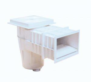 Скиммер для бетонного бассейна с удлиненной горловиной
