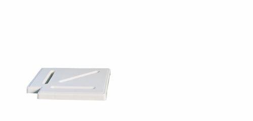 Угол 90° для переливных решеток