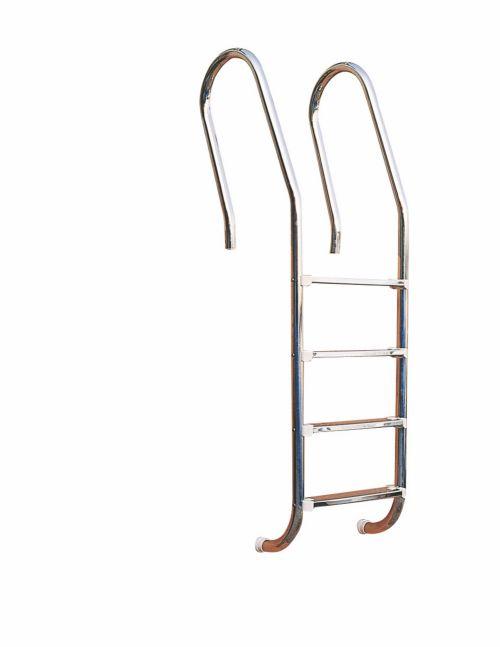 Лестница для стационарного бассейна из нержавеющей стали