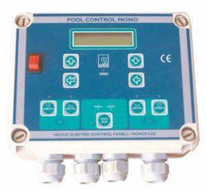 Сенсорная панель блока управления бассейном