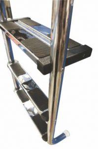 Лестница для бассейна из нержавеющей стали (комбинированная модель 304, 316) двойная безопасность