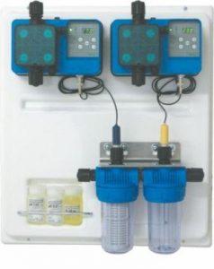 Панель автоматического регулятора рН, ОВП с дозировочным насосом