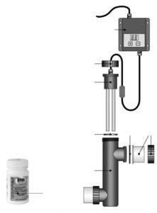 Ионизатор меди для дезинфекции воды в бассейнах
