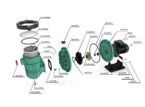 PUMPEX-300T 3 HP, TRİFAZE